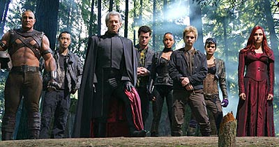 'The Brotherhood' with McKellan as 'Magneto' (3rd from left)