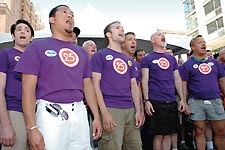 The Chorus sing at the 2006 Capital Pride Festival Photo by File Photo by Randy Shulman