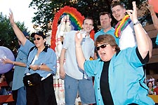 CARA members on their 2006 Capital Pride Parade float Photo by Henry Linser/file photo