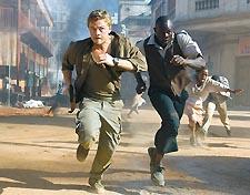 Screen gems: DiCaprio and Hounsou