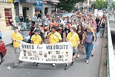 Participants of 2006 Dyke March