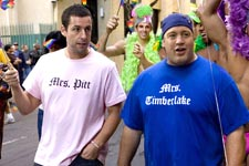 Sandler and James in 'Chuck and Larry'