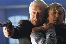 Stop or I'll shoot: Caine and Law