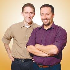 Justin Lerner and Yoni Bock