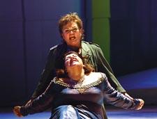 Revenger's tale: Bullock and Goerke Photo by Karin Cooper
