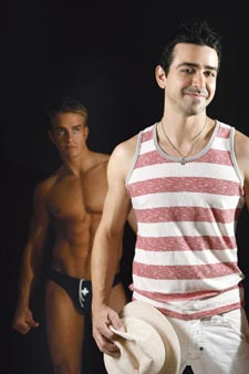 Andrew Christian (front)