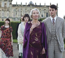 Emma Thompson [center] with cast of 'Brideshead Revisited'