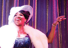 Roz White in 'Pearl Bailey... By Request'