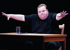 Mike Daisey: 'How Theater Failed America' Photo by Kenneth Aaron