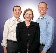 Bernie Delia, Dyana Mason, Michael Lutz Photo by Todd Franson