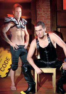 David Merrill (left) and Jacob Nathaniel Pring Photo by Todd Franson
