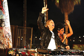 David Guetta and Kelly Rowland