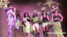 Contestants from Town's ''So You Think You're a Drag Queen'' Photo by Aram Vartian