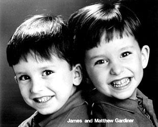 James (left) and Matthew Gardiner Photo by Bev Gardiner
