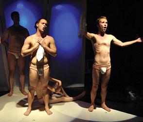 Naked boys Matt Gillette and Chaz Starkey Photo by Michael Key