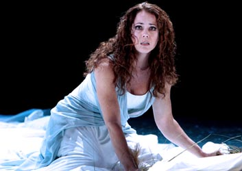 Over troubled water: Elizabeth Futral as Ophelia Photo by Karin Cooperfor/Washington National Opera