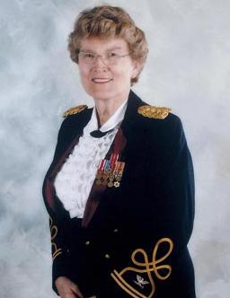Retired Army Reserve Col. Margarethe Cammermeyer