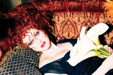 Cyndi Lauper Photo by Ellen von Unwerth