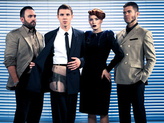 Scissor Sisters Photo by David Sherry