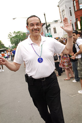 Vincent Gray at 2010 Capital Pride Parade
