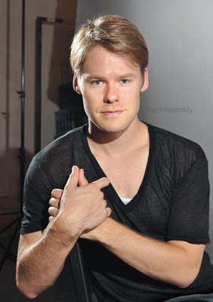 Randy Harrison Photo by Todd Franson