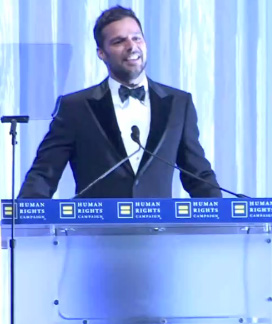 Ricky Martin at the 2010 HRC National Dinner Photo by Aram Vartian