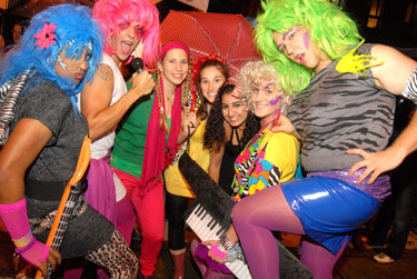 Participants of the High Heel Race Photo by Ward Morrison
