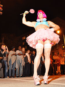 Katy Perry drag queen: 25th Annual 17th Street High Heel Race