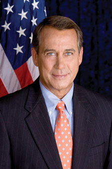 John Boehner Photo by US House of Representatives