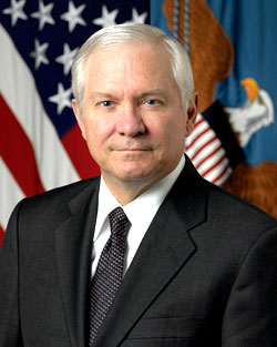 Defense Secretary Robert Gates  Photo by U.S. Department of Defense