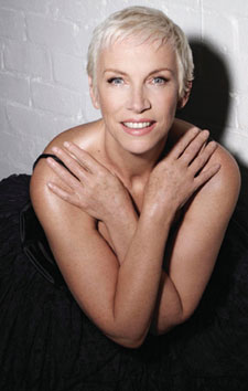 Annie Lennox Photo by Mike Owen