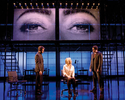 'Next to Normal': Jeremy Kushnier, Alice Ripley, Asa Somersinthe Photo by Craig Schwartz
