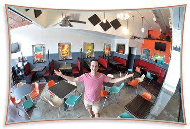 Kevin Lee at Duplex Diner