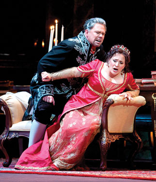 Tosca: Held and Racette Photo by Scott Suchman