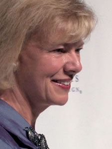 Tammy Baldwin Photo by Aram Vartian