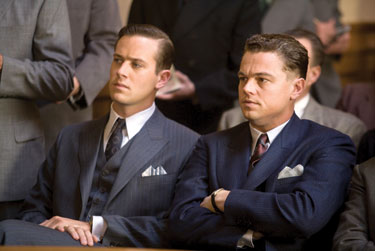 J. Edgar: Hammer and DiCaprio Photo by Keith Bernstein