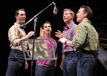 Jersey Boys Photo by Joan Marcus