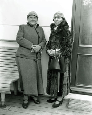 Getrude Stein and Alice B. Toklas