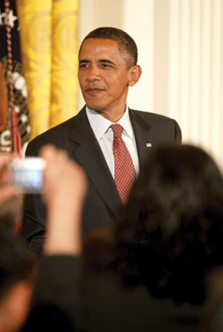 President Barack Obama Photo by Ward Morrison