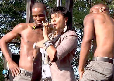 Crystal Waters performs for D.C.'s Capital Pride 2012 Photo by Alex Pacheco