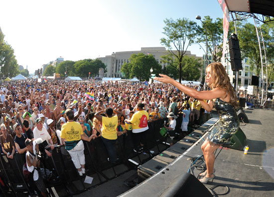 Deborah Cox at Capital Pride 2012 Photo by