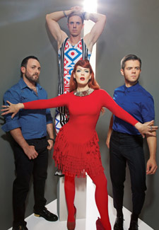 The Scissor Sisters Photo by