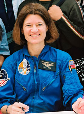 Sally Ride Photo by Via sallyridescience.com
