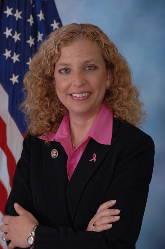 Debbie Wasserman Schultz, official portrait, 112th Congress