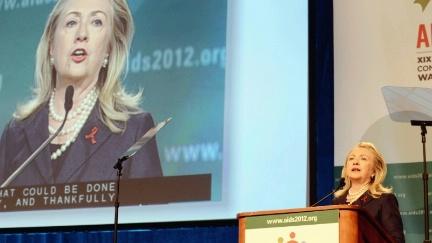 Hillary Clinton, AIDS 2012 Hillary Clinton, AIDS 2012