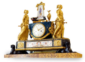 Salone Dore Clock Photo by