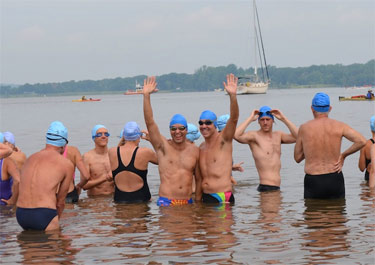 Swim for LIfe 2012 Photo by Courtesy DCAC