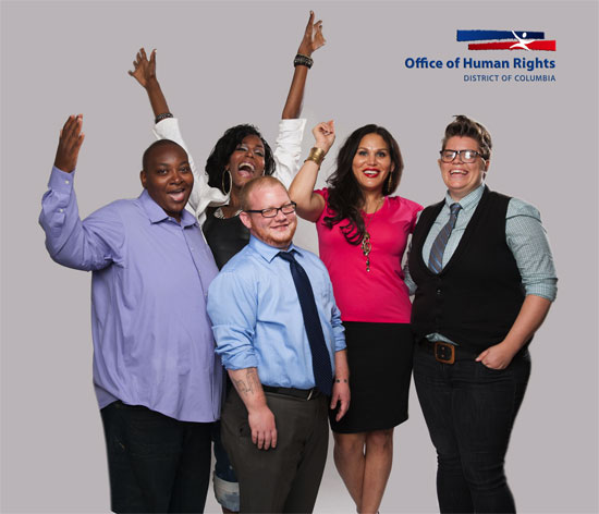 D.C. Office of Human Rights Trans Ads Photo by