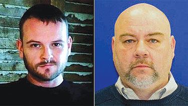 Ulrich (left) and Petersen Photo by courtesy of Baltimore Police Dept.