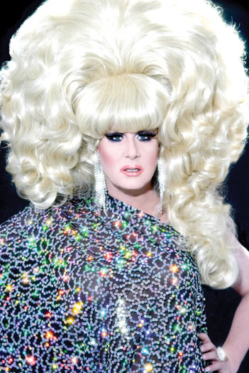 Lady Bunny Photo by Aaron Cobbett
